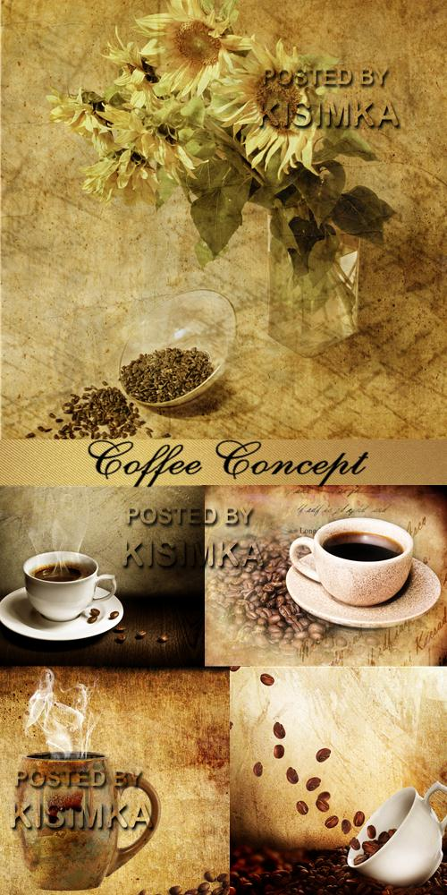 Stock Photo: Coffee Concept