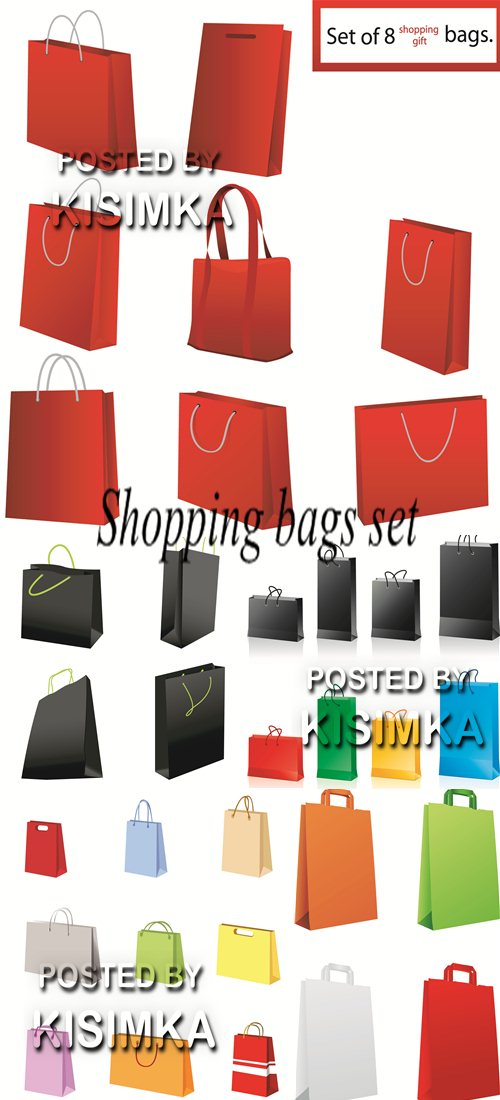 Stock: Shopping bags set