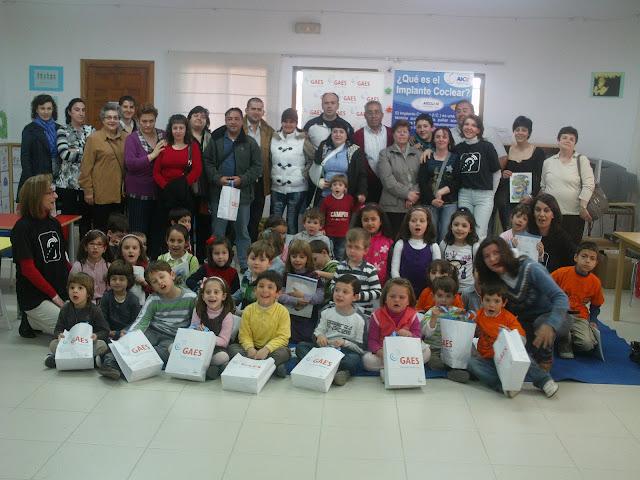 Grupo paticipantes en Castilla La Mancha Día del IC 2011