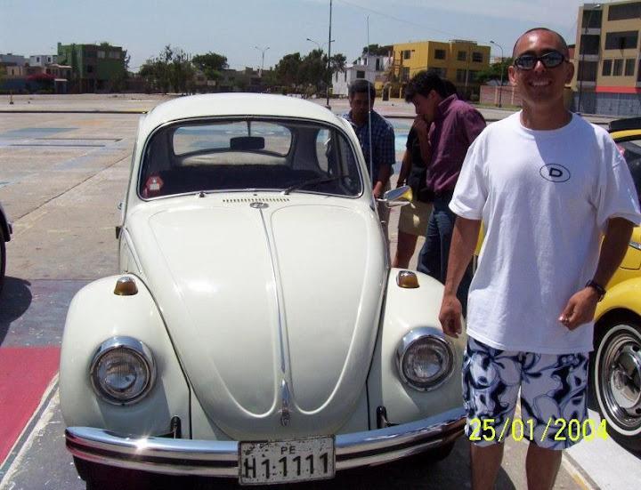 Historia de las primeras reuniones de vw en el Peru Branko