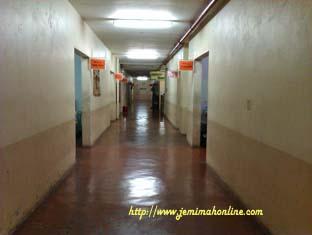 San Lazaro Hospital Hallway inside