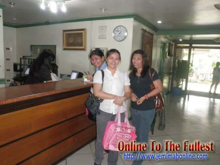 UP Diliman Hotel Reception