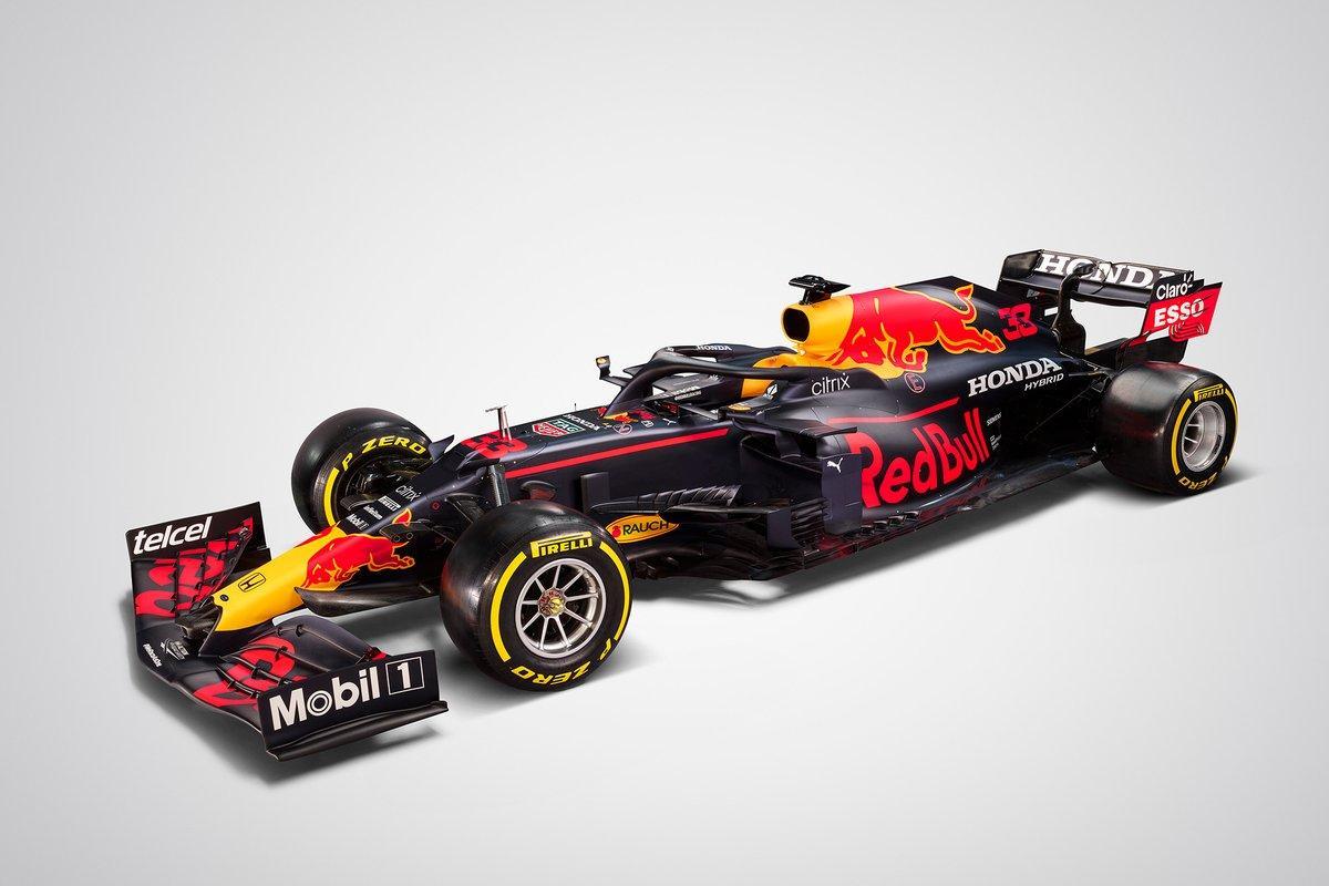 F1: Red Bull presents its 2021 Formula 1 car, the RB16B