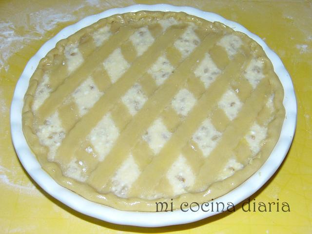Pastiera Napoletana (Пастиера Наполетана - пасхальный пирог с рикоттой)