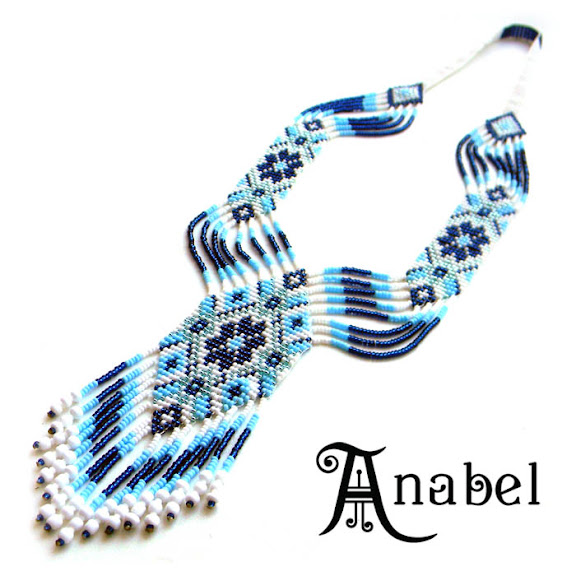beads beadwork beaded necklace loom beadweaving ornament