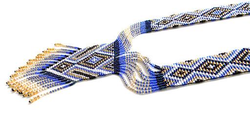 Купить этнические украшения из бисера герданы украина