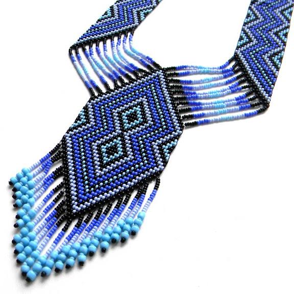 подарок купить красивые украшения из бисера
