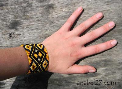 Купить яркие браслеты из бисера. Интрнет-магазин авторских украшений ручной работы. Россия, Симферополь.