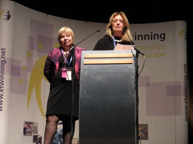 Donatella Nucci e Anna Antonini alla conferenza di Budapest - photo tmannelli