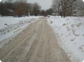 Дирекция дорожного фонда Тверской области разработает программу по уборке снега в городе Тверь на 2012 год