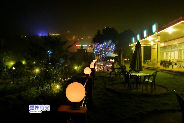 古坑- 拿鐵與夜景 我在研堤庭園咖啡