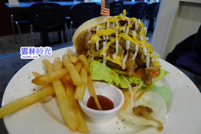 斗六–大口吃美式漢堡 Mar Sar's馬沙有堡二號店