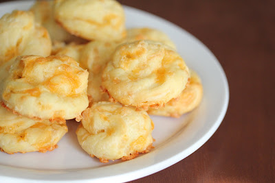 photo of Gougères on a plate