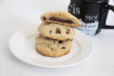 Stuffed Chocolate Chip Cookies