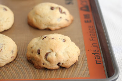 photo of cookies on a baking sheet