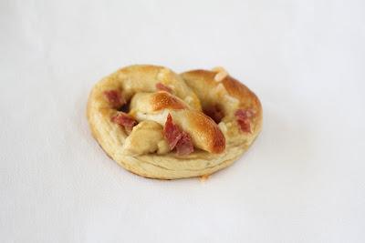 photo of one pretzel