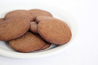 close-up photo of Reese's peanut butter cookies on a plate