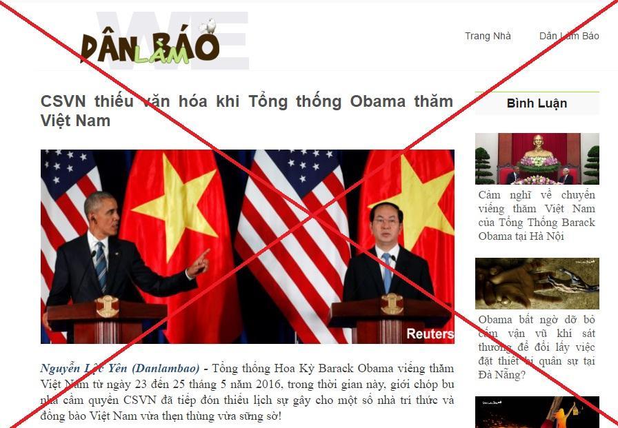 Barack Obama, Trần Đại Quang, Nguyễn Thị Kim Ngân