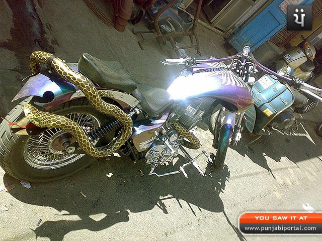 Snake Bullet Royal Enfield Bullet 350