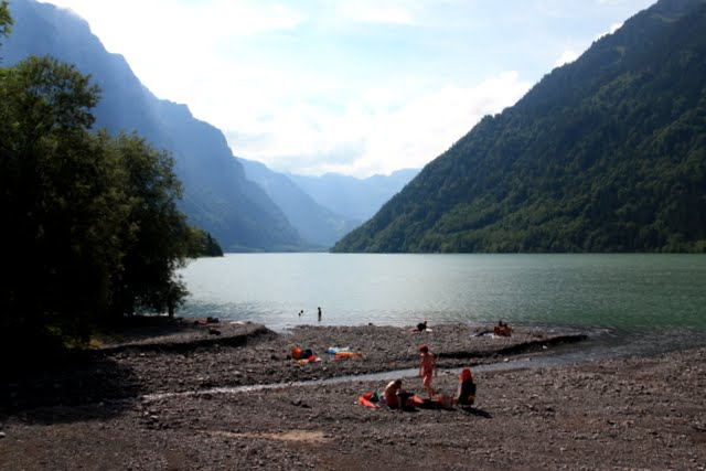 Klöntalersee Lake Hike Swiss Family Fun