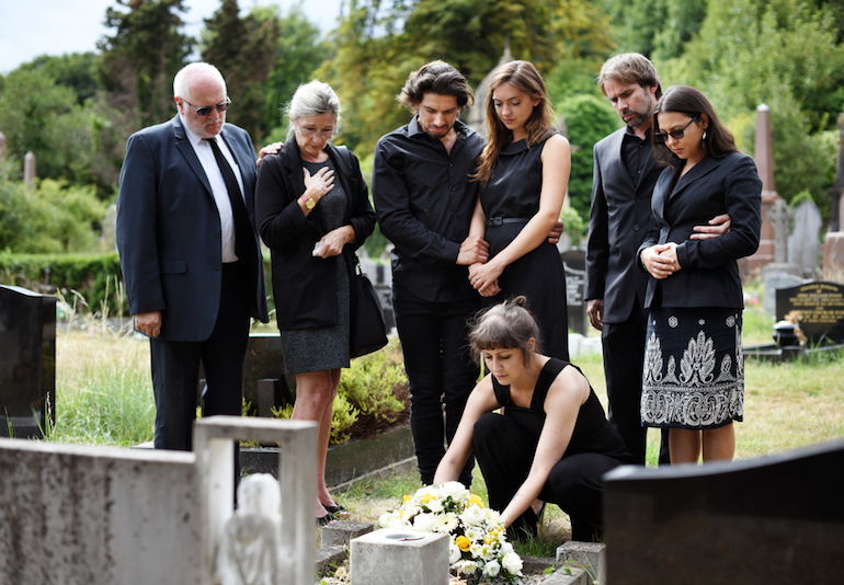 Image result for mourning clothes at funeral