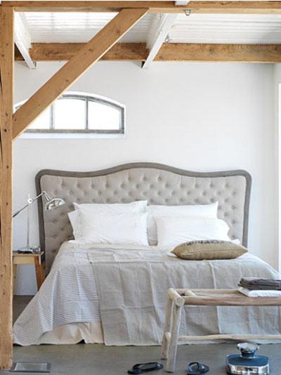 En mi espacio vital muebles recuperados y decoraci n vintage m s camas y cabeceros tapizados - Cabeceros tapizados vintage ...