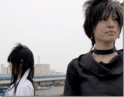 flame of recca cosplay - raiha and kurei