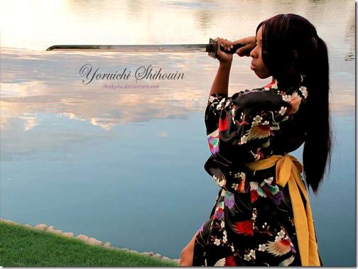 bleach cosplay - shihoin yoruichi 3 by makuba