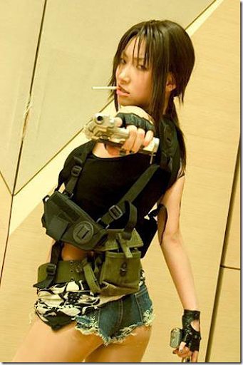black lagoon cosplay - revy 2
