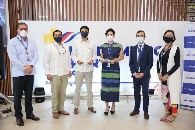 AERODOM y Cervecería firman alianza para reciclar los residuos plásticos del Aeropuerto Int. Las Américas
