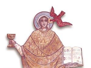 Maria Madre della Chiesa - Affresco a Canosa Sannita (Chieti)