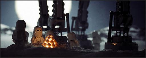 Algunas de las mejores fotos de Stars Wars en Lego