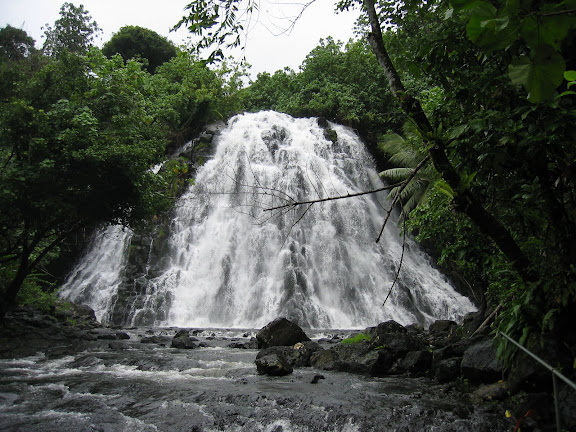 Kepirohi Waterfall in Pohnpei. - Courtesy of lh6.googleusercontent.com