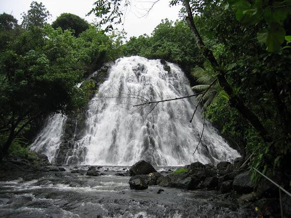 Kepirohi Waterfall in Pohnpei. - Courtesy of lh6.googleusercontent.com