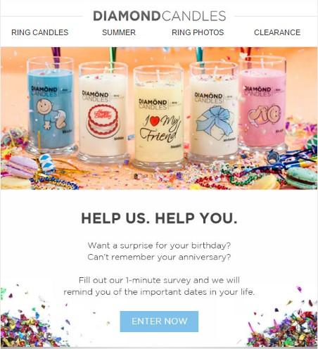C:\Users\SWATI\Desktop\PSA\Diamond-Candles-survey-invitation-email-examples.jpg
