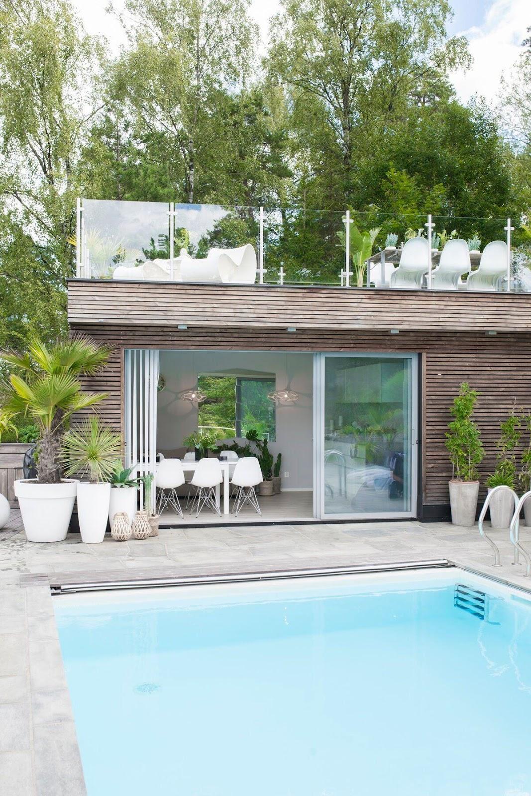 terrasse bygget med Kebony materialer