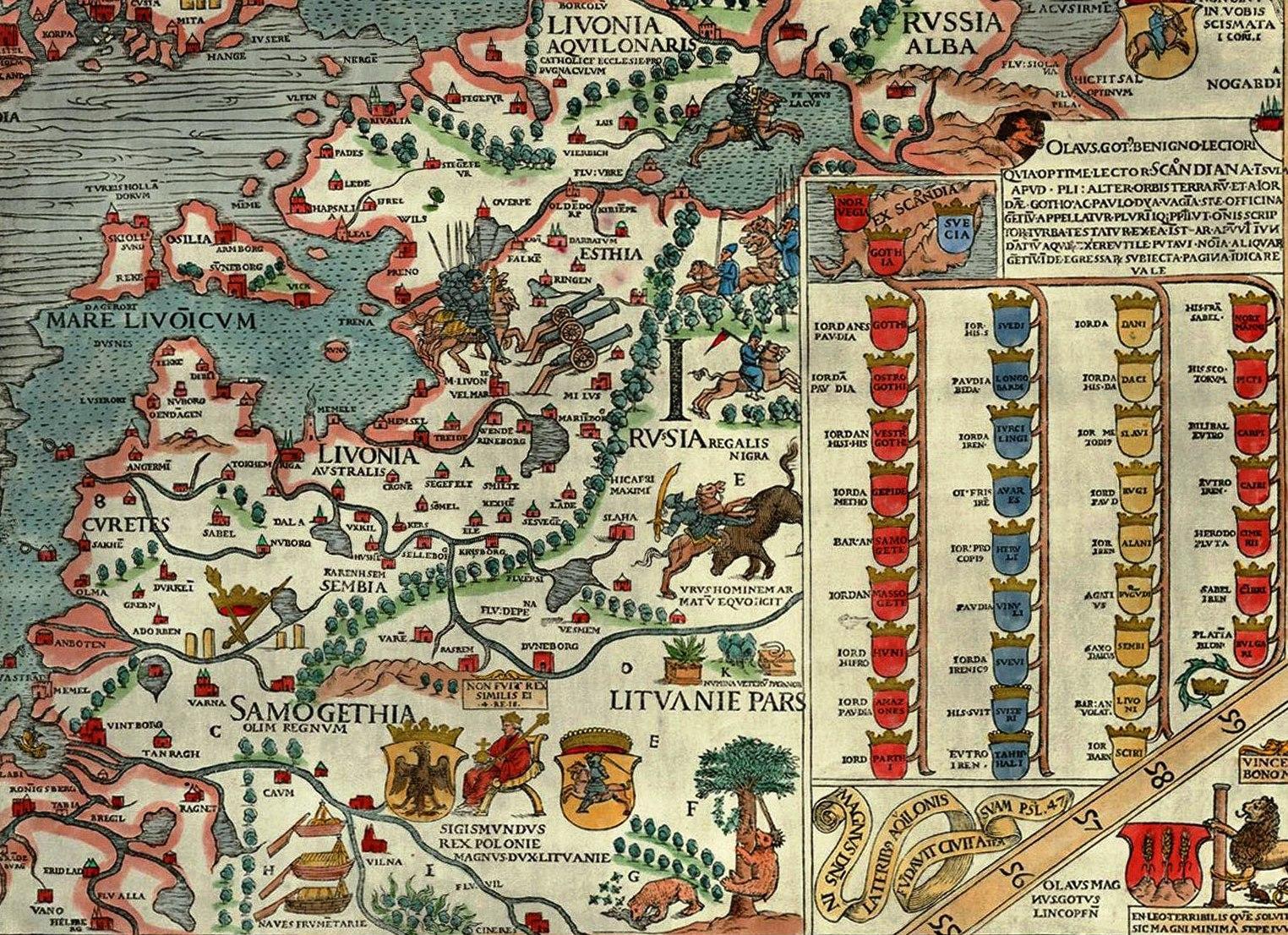 C:\Users\PC\Desktop\zemaitijos herbui\1539-Samogethia-and-Lituania.jpg