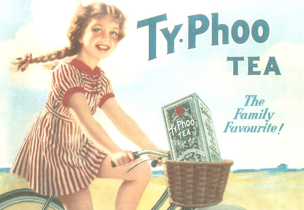 More Vintage Typhoo Tea Postcards