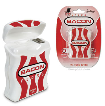 Bacon Dental Floss and Pig Trotters