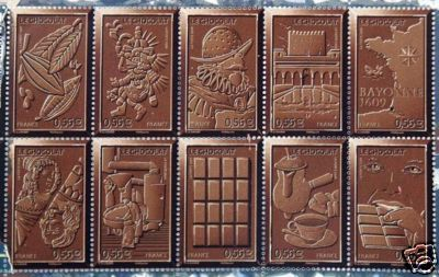 Postcard Friendship Friday #17 - Chocolate Scented Stamps