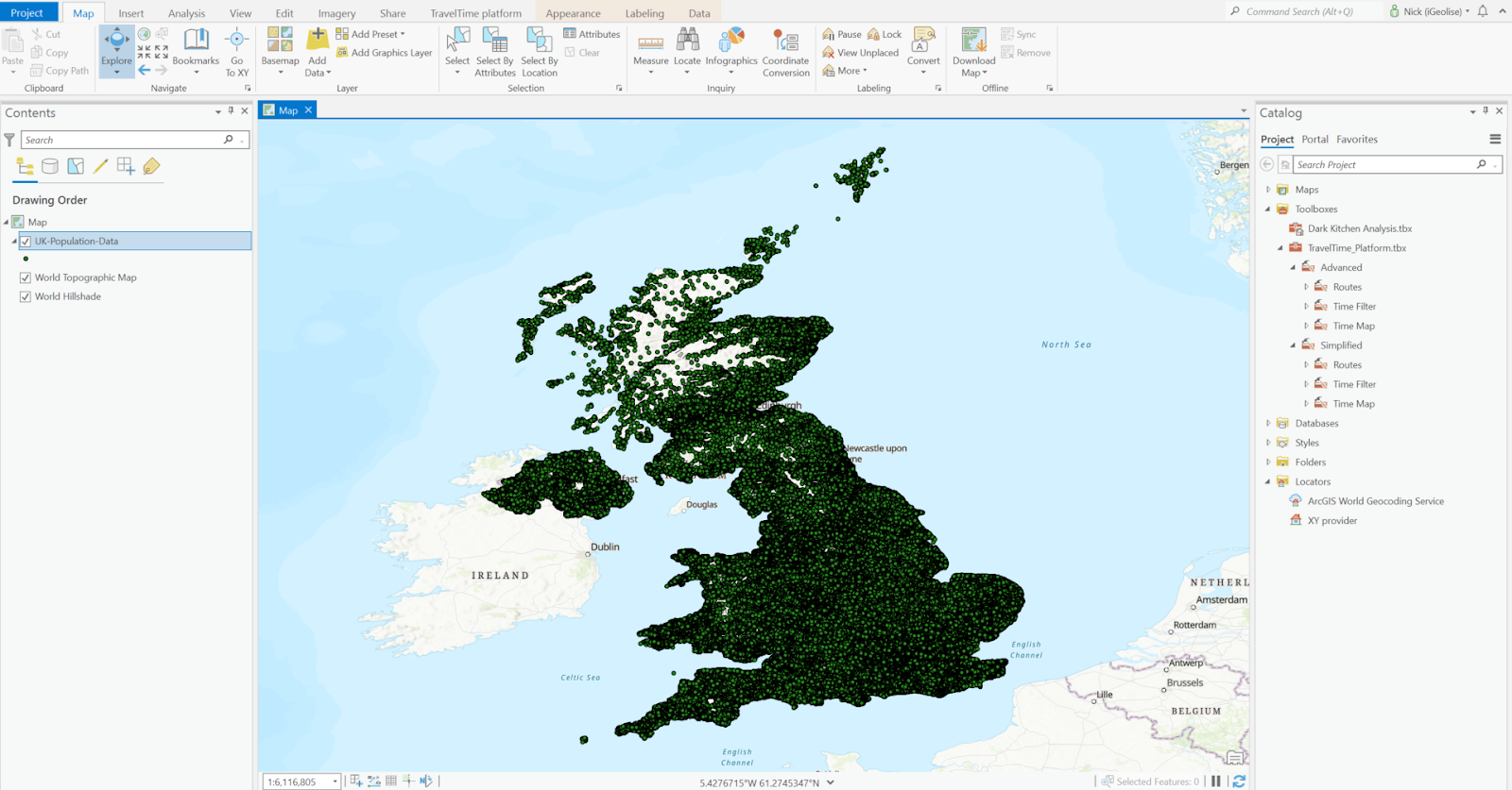 UK population data