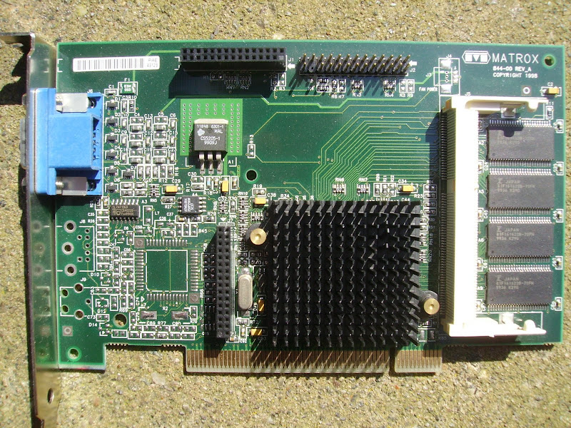 DRIVERS FOR MATROX G2 VIDEO