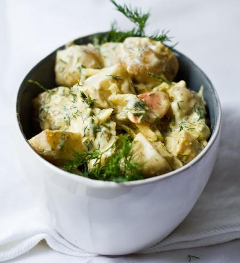 Vegan Dill Potato Salad Recipe