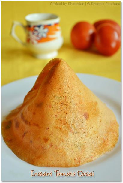 Thakkali Dosai Recipe