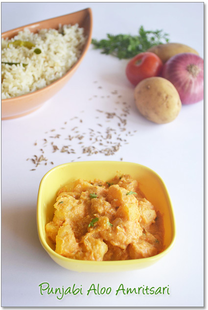 Punjabi Aloo Amritsari Recipe