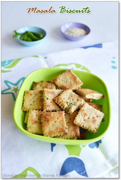 Masala Biscuits Recipe