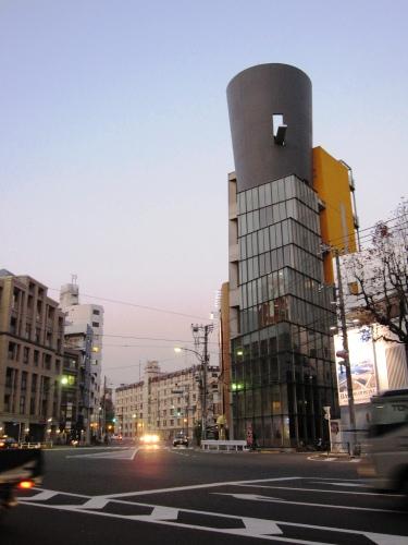 旧サイベリア東京 建物全景