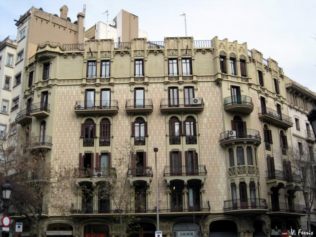 Casa queralt barcelona modernista - Casa modernista barcelona ...