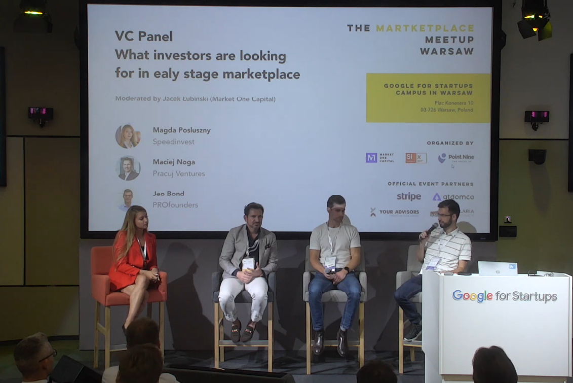 Marketplace Conference 2019: What investors are looking for in the early-stage marketplaces