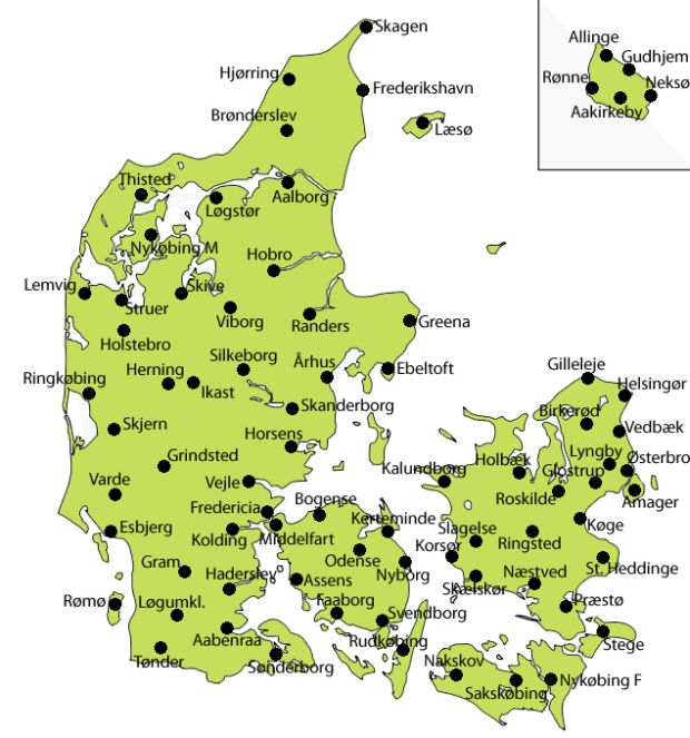 danske dialekter